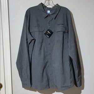Columbia Titanium Grey XL Irico shirt